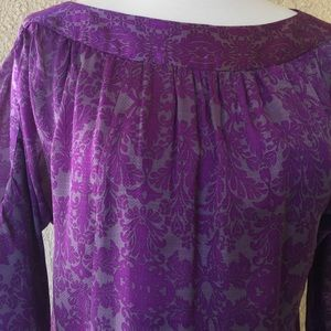 Nanette Lepore Long Sleeves Silk Blouse
